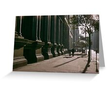 Collins Street in evening at NAB 19570123 0000 Greeting Card