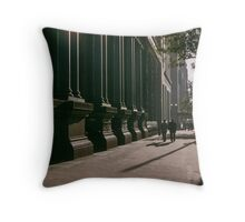 Collins street Melbourne in Evening 1957 Throw Pillow