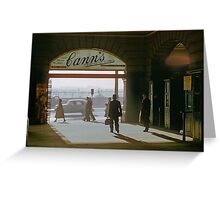 Canns Entrance Flinders Street station 1957 Greeting Card