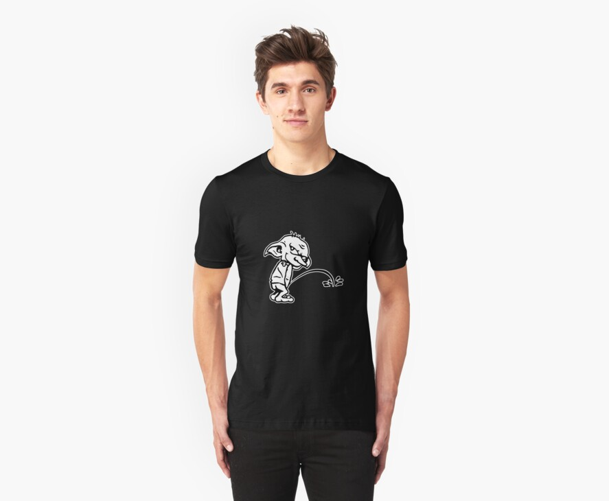 Bad Dobby- Harry Potter Shirt by spacemonkeydr