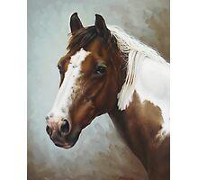 Paint Portrait Photographic Print