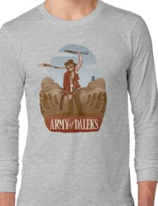 Army of Daleks Long Sleeve T-Shirt