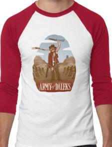 Army of Daleks Men's Baseball ¾ T-Shirt