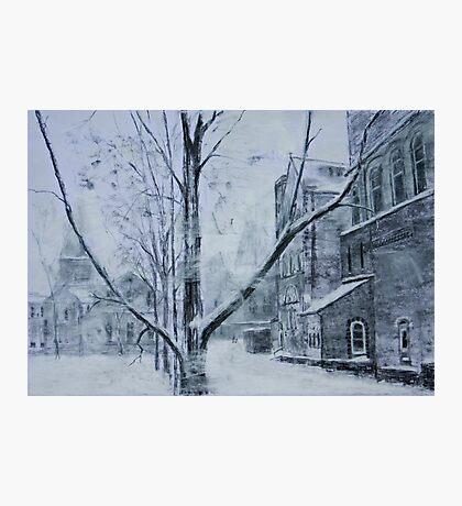 Winter Village Photographic Print