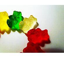 Gummy Bear Semi-Circle Photographic Print