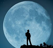 The Man in the Moon by Steve Purnell