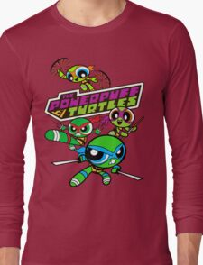 The Powerpuff Turtles Long Sleeve T-Shirt