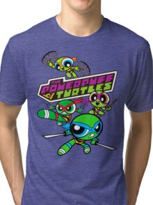 The Powerpuff Turtles Tri-blend T-Shirt