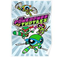 The Powerpuff Turtles Poster