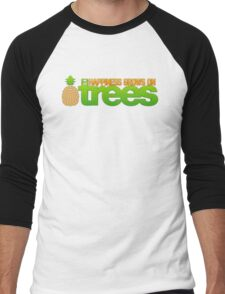 Happiness Grows On /r/trees Men's Baseball ¾ T-Shirt