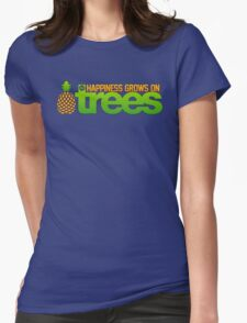 Happiness Grows On /r/trees Womens Fitted T-Shirt