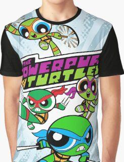 The Powerpuff Turtles Graphic T-Shirt