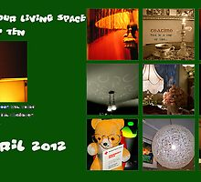 "BANNER TOP TEN "" INDOOR YOUR LIVING SPACE"" 30 APRIL 2012 by Guendalyn"