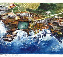Maroubra Pool, Sydney by Dai Wynn