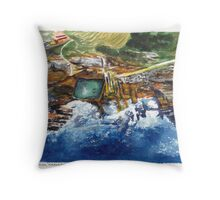 Maroubra Pool, Sydney Throw Pillow