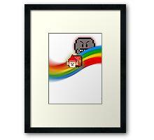 NyanGnome Framed Print