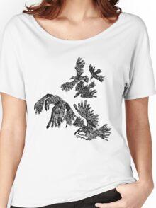 black birds Women's Relaxed Fit T-Shirt