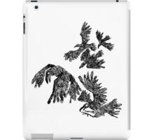 black birds iPad Case/Skin