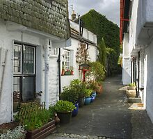 The Alley In April by Jamie  Green