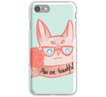 Mew Are Beautiful - Blue iPhone Case/Skin