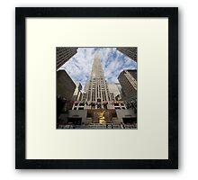 30 Rock Pan NY Framed Print