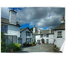 Hawkshead...The Corner Of The Square Poster