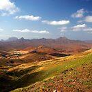 Cape Verde Landscape by John Dalkin