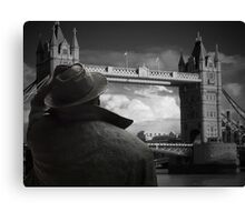 Which way to St Pancras  Canvas Print