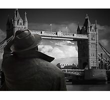 Which way to St Pancras  Photographic Print