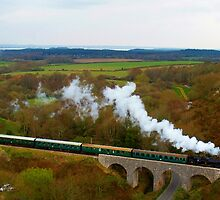 Crossing the viaduct. 2 by Mike Streeter