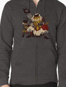 Lord of Cats Zipped Hoodie