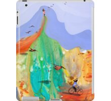 Girl on the hill iPad Case/Skin