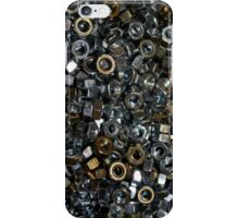 Loose nuts iPhone Case/Skin