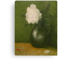 Green vase Canvas Print