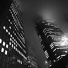 Shinjuku mist by Alan Black