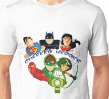 cheeked heroes Unisex T-Shirt