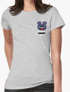 WOOF 3 Womens Fitted T-Shirt