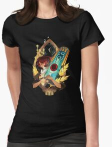 Transistor - Like It's Written in the Stars Womens Fitted T-Shirt