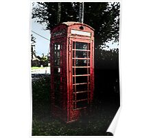 The Old Phone Box Poster