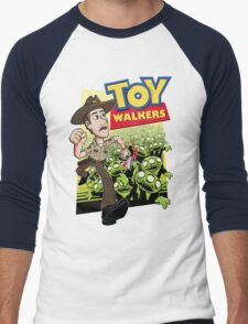 Toy Walkers (color) Men's Baseball ¾ T-Shirt