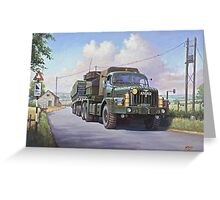 Thornycroft Antar Greeting Card