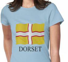 Dorset flag Womens Fitted T-Shirt