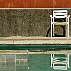 Chair by the Water by Glendz