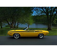 1970 Dodge Challenger RT Convertible Photographic Print