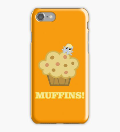 Derpy (Ditzy Doo) - Muffins! - (My Little Pony Friendship is Magic) iPhone Case/Skin