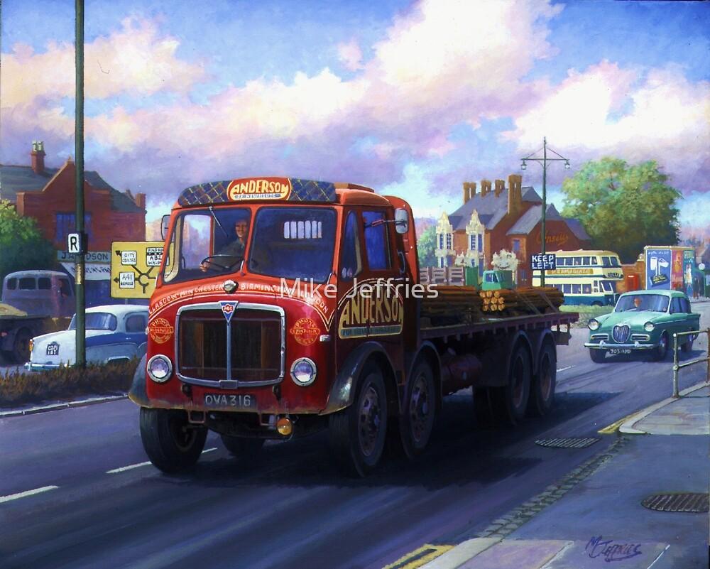 AEC Mammoth Major Mk III in Birmingham. by Mike Jeffries