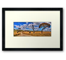 Take me Home Country Roads - Somewhere Near Oberon (Second Cut)- The HDR Experience Framed Print