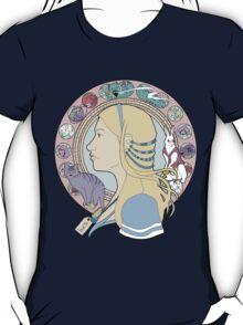 Alice in Wonderland Colorful Art Nouveau  T-Shirt