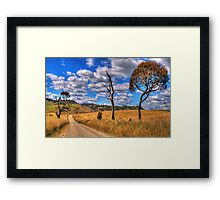 Take me Home Country Roads - Somewhere Near Oberon - The HDR Experience Framed Print