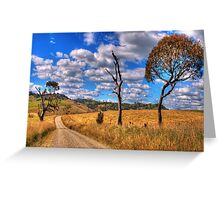 Take me Home Country Roads - Somewhere Near Oberon - The HDR Experience Greeting Card